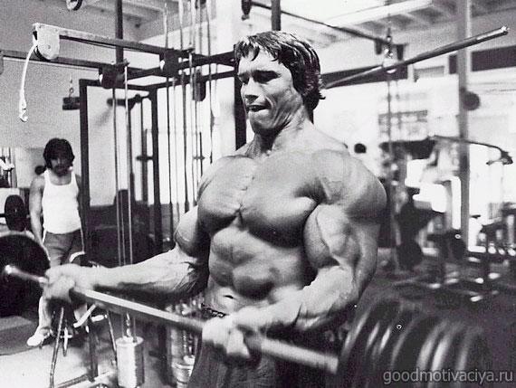 Железный Арни. Тренировка